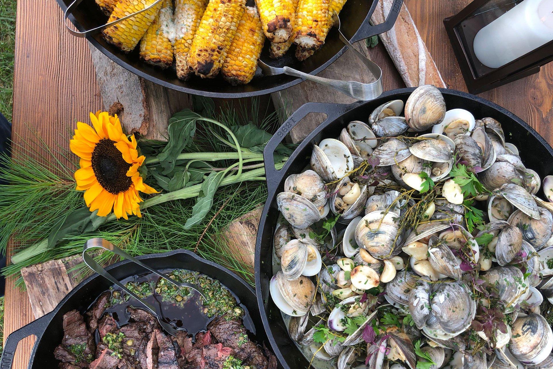Hunt & Harvest clams